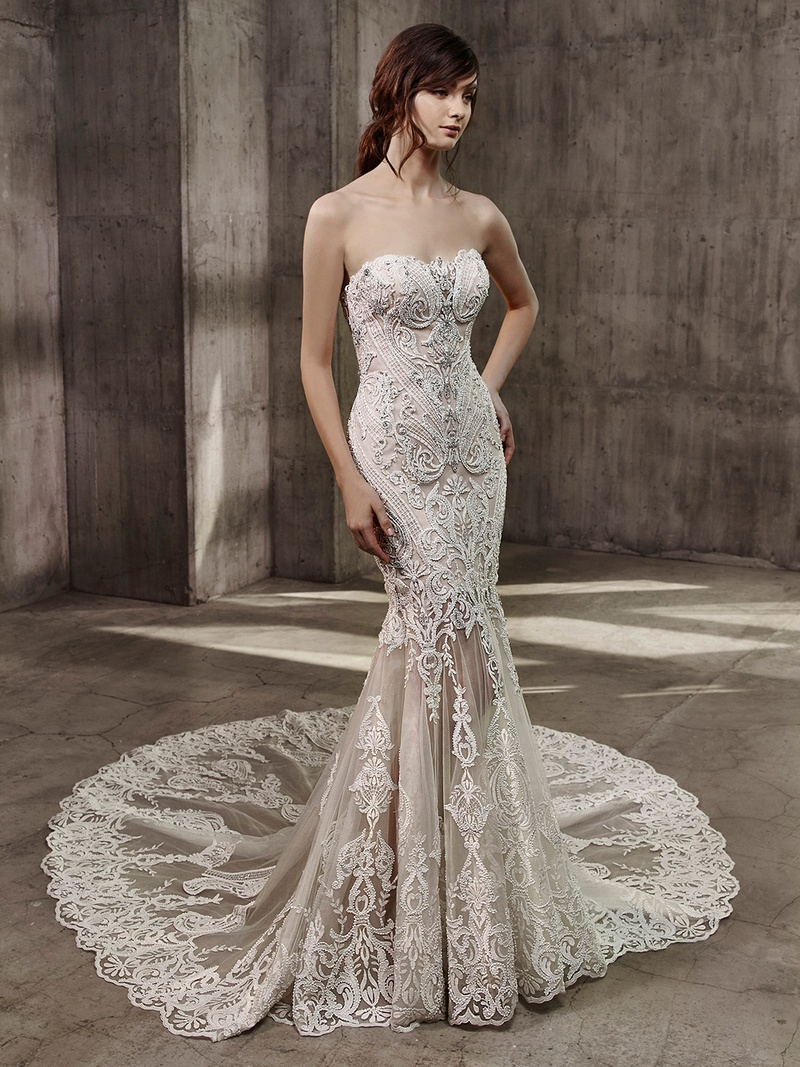 Wedding dresses photos avita by badgley mischka bride for Wedding dress badgley mischka