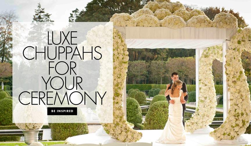 Luxury chuppahs for your ceremony wedding decor ideas