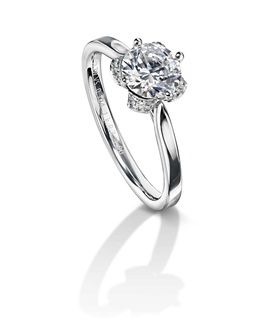 Furrer Jacot 53-66740-0-W white gold engagement ring