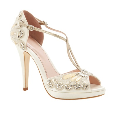 9c92ac04dcc Wedding Shoes  Sparkling High Heels for Winter Weddings - Inside ...