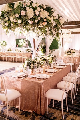 Wedding reception of Amy Crawford sister of Brandon Crawford and Houston Astros pitcher Gerrit Cole