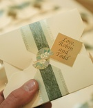 Chinese take-out box wedding favor packaging