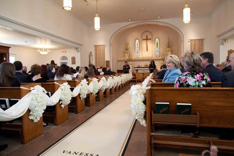 Wedding at Corpus Christi Catholic Church, New Brunswick, NJ