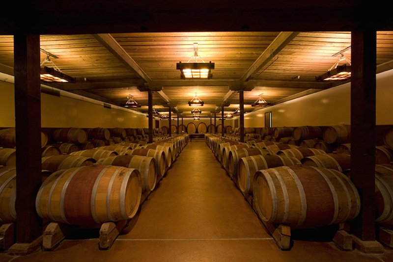 Locations & Venues Photos - Gainey Vineyard Barrel Room - Inside ...