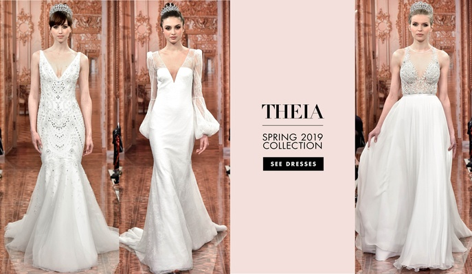 Bridal Fashion Week: THEIA Spring 2019 - Inside Weddings