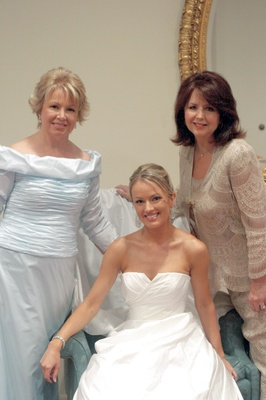 Brooke Anderson with her mom and guest