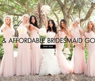 Chic and affordable bridesmaid dresses that are all under $150