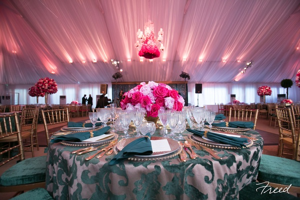 A spectacular tented wedding at our client's D.C. home