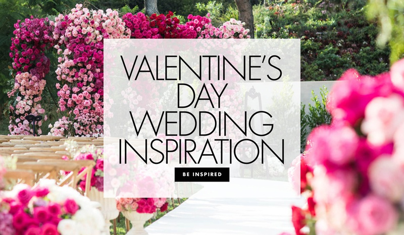 763b08a43405 Valentine s Day Wedding Ideas. 0 Favorites  0 Repins. Be inspired by  romantic pink and red details from real weddings.