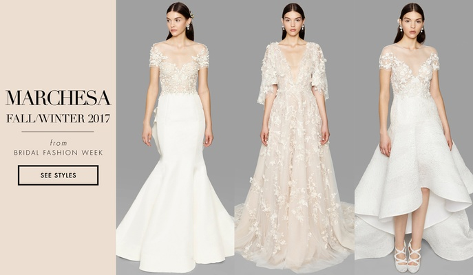 Bridal Week: Bridal Gowns Inspired by Greek Goddess Eos Marchesa ...