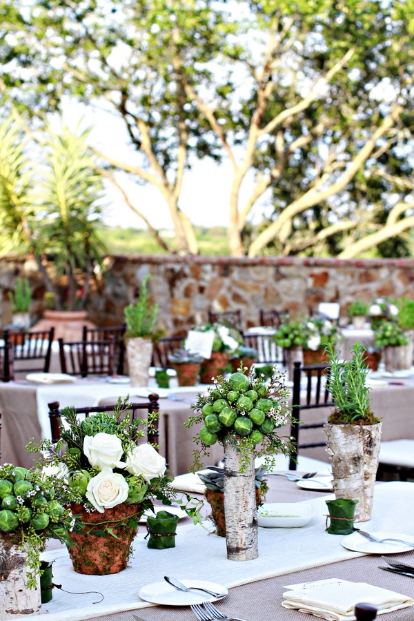 Reception Decor Photos Rustic And Tuscan Inspired Decor Inside