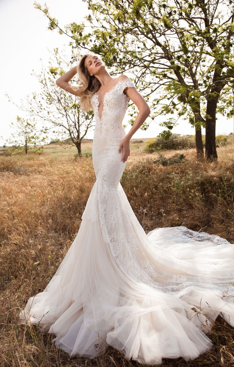 Wedding dresses photos 702 by gala no 2 inside weddings gala by galia lahav gala collection no 2 off shoulder wedding dress long train lace junglespirit Gallery