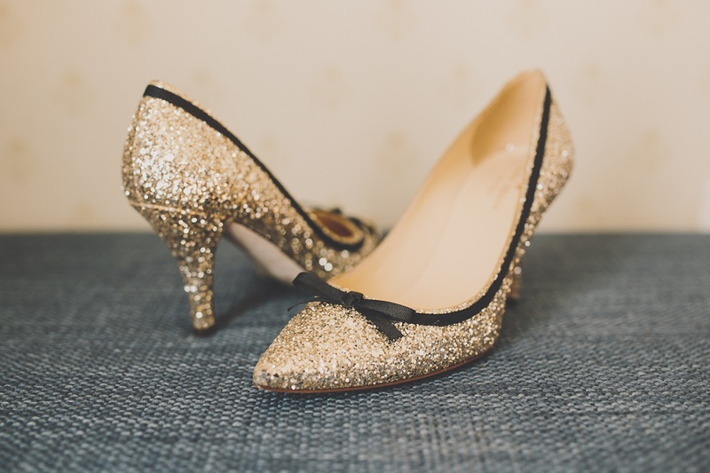 589b6c5a335 Shoes & Bags Photos - Gold and Black Shoes - Inside Weddings