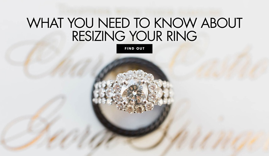 What you need to know about resizing your engagement ring if it doesn't fit