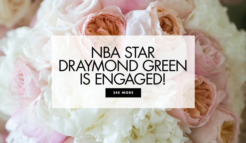 NBA star Draymond Green is engaged Warriors head coach Steve Kerr was the one to break the news.