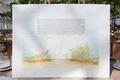jewish wedding ketubah marriage contract illustration watercolor of venue greenhouse santa barbara