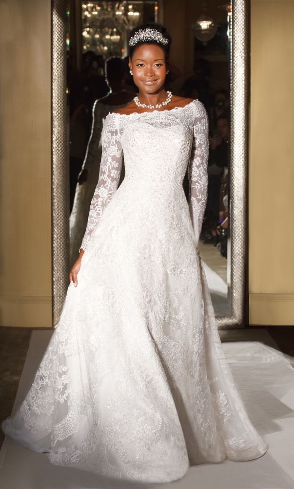 Bridal Gowns: Long Sleeve Wedding Dresses for Brides - Inside Weddings