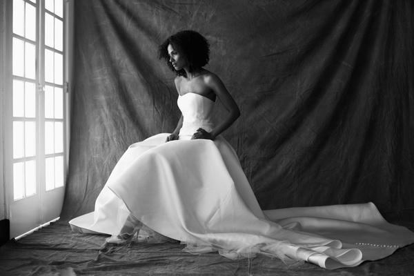 Francesa Miranda fall 2019 bridal collection wedding dress Gieorgia strapless ball gown