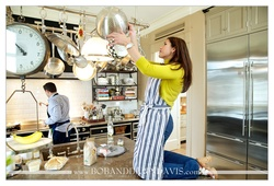 Tracy and Chris wanted their engagement session to be special to them, and they love cooking togethe