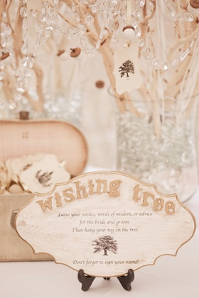 Keri Lynn Pratt wedding wishing tree guest book alternative