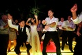 Courtney Mazza and Extra host dance at wedding