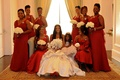Porsha Williams with bridesmaids and flower girl