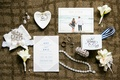 invitations from minted, nadri wedding jewelry, boutonnieres