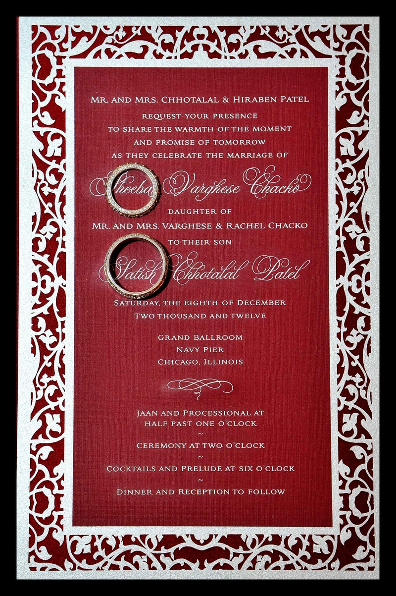 Invitations & More Photos - Indian Wedding Invitation - Inside Weddings