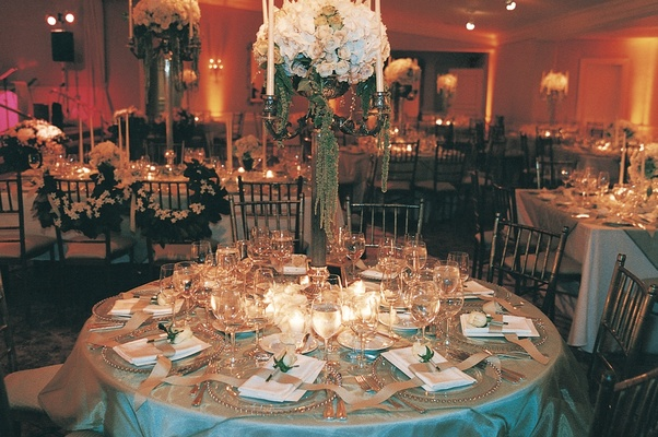 Elegant garden themed celebration at hotel bel air inside weddings wedding reception decor wedding reception centerpieces garden workwithnaturefo
