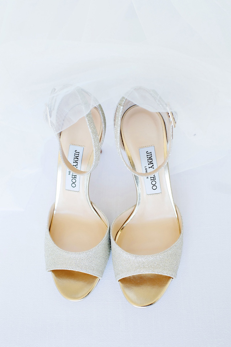 wedding accessories designer jimmy choo peep toe pump shoes with ankle straps tulle veil
