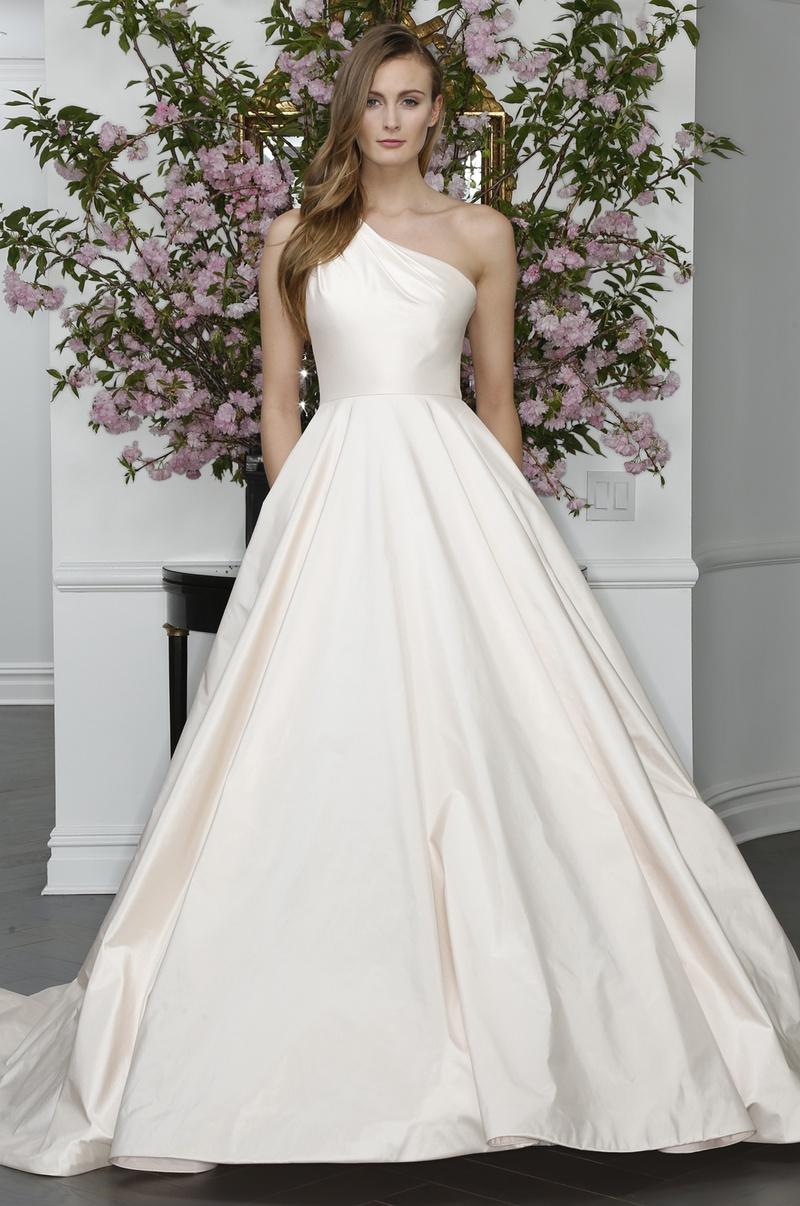 Wedding Dresses Photos - One-Shoulder Dress by Legends Romona Keveza ...