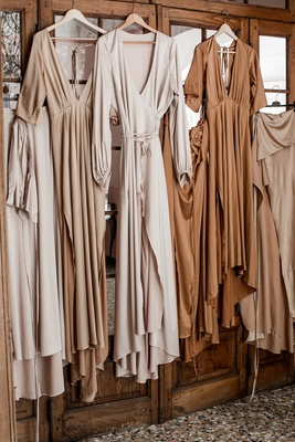 daughters of simone co owner wedding long bridesmaid dresses boho chic in earth tones colors