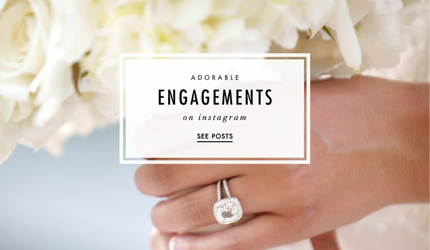 Cool instagram posts that announce engagements