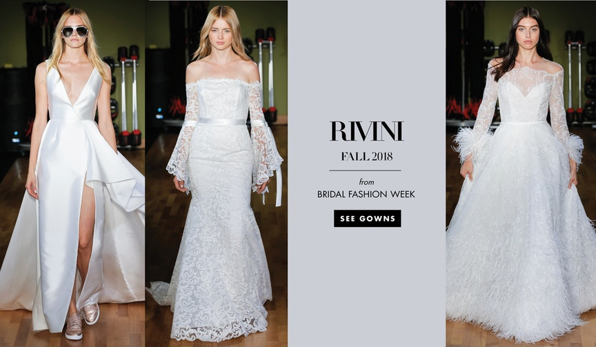 Bridal Fashion Week Rivini Fall 2018