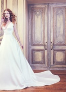 Sareh Nouri Spring 2018 bridal collection Waldorf wedding dress v neck ball gown