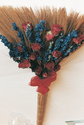 Mother of the groom's traditional broom