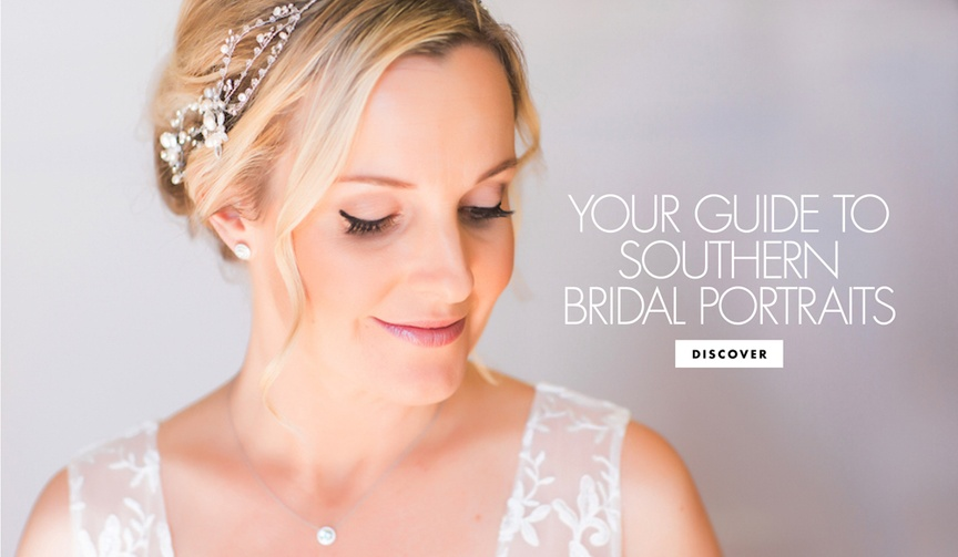 southern wedding traditions bridal portraits