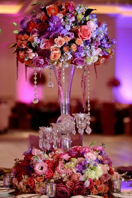 Real Housewives of Atlanta wedding reception decor