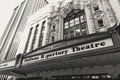 Black and white photo of theater theatre wedding venue in indianapolis indiana unique venue ideas