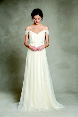 simple wedding dresses for a casual celebration inside weddings