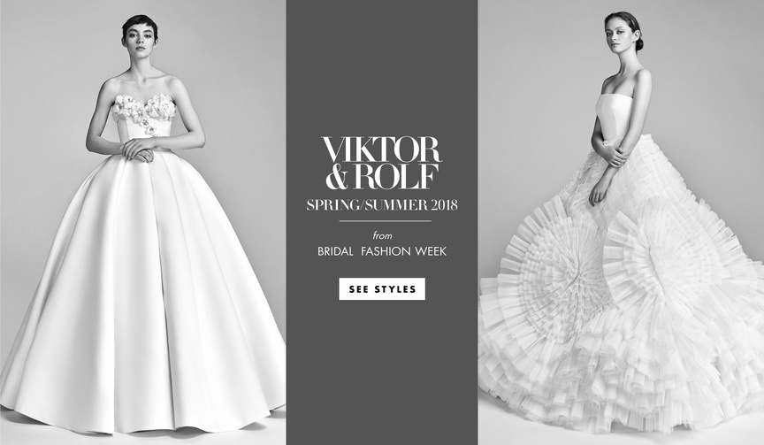 Viktor & Rolf Mariage collection spring summer 2018 bridal gowns wedding dresses