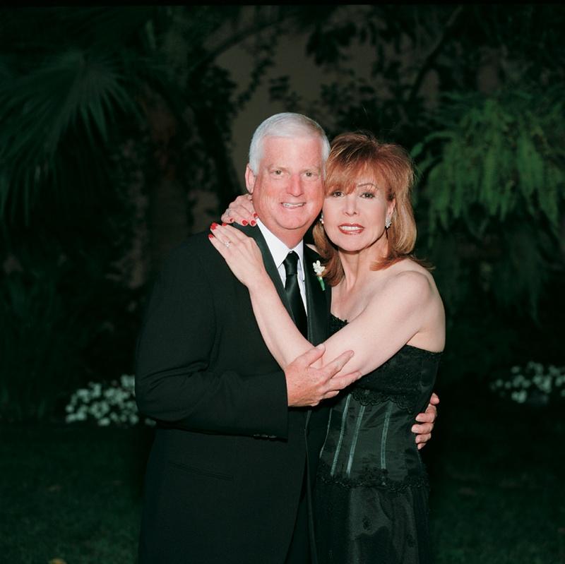 Portrait of groom's parents
