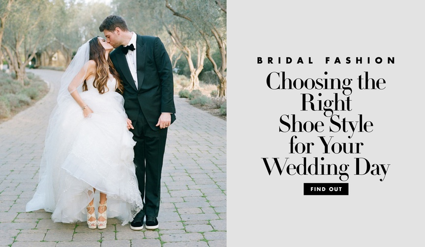 How to choose the right shoe style for your wedding day with help from Maradee Wahl bridal stylist