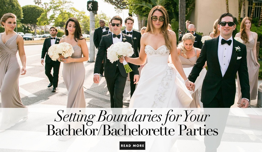 How to set boundaries with your soon to be spouse for the bachelor bachelorette party