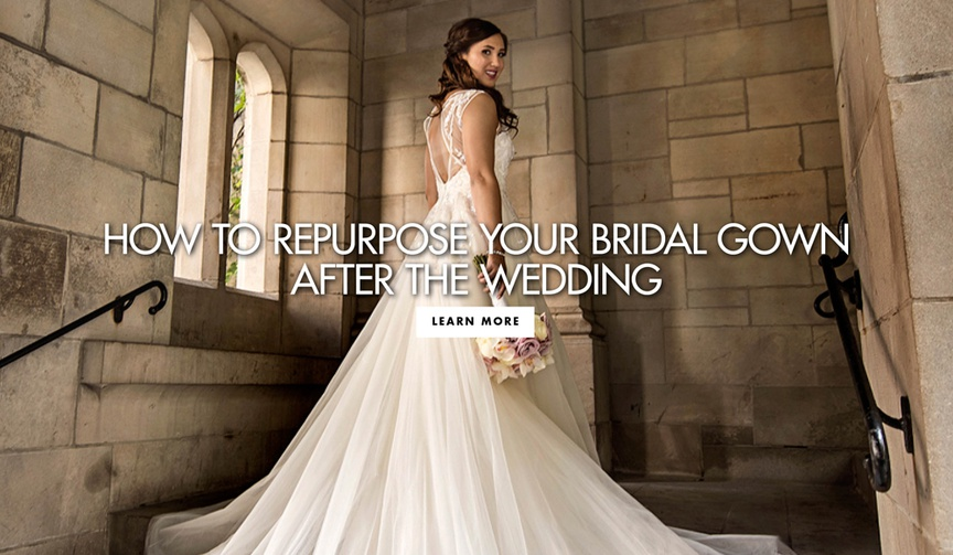 what to do with your bridal gown after your wedding day, how to reuse your wedding dress