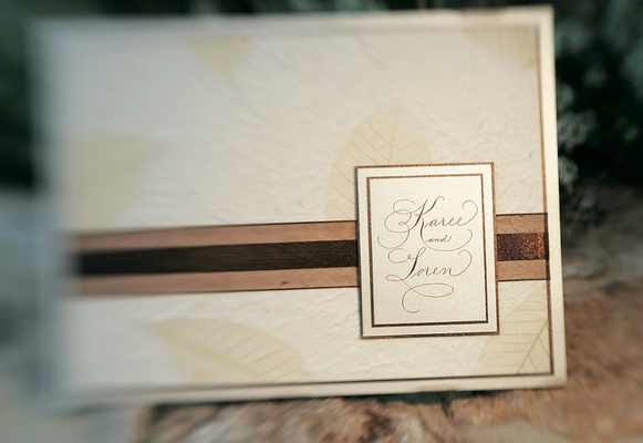 Ivory And Champagne Wedding Invites ...
