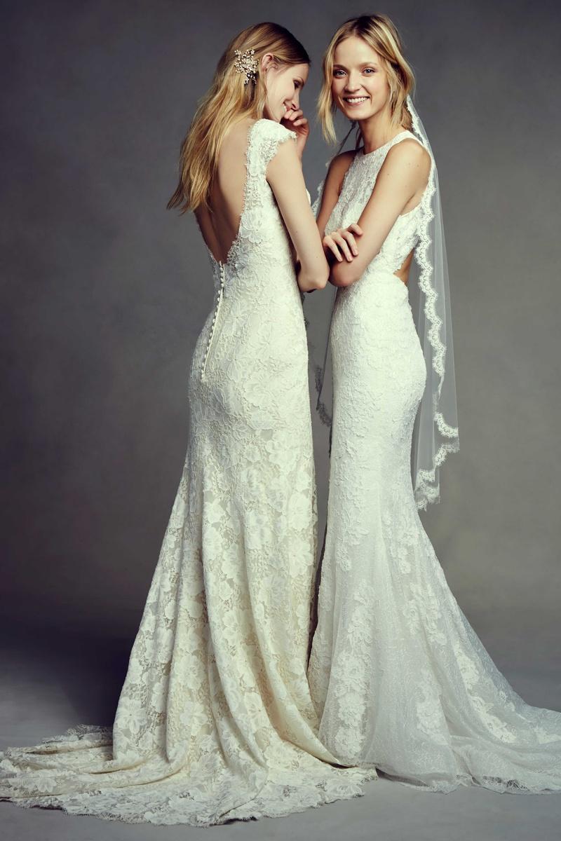 Wedding Dresses Bhldn Boho Chic Bridal Styles Inside Weddings