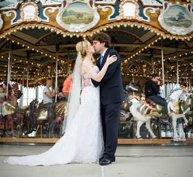 Carousel Couples Portrait
