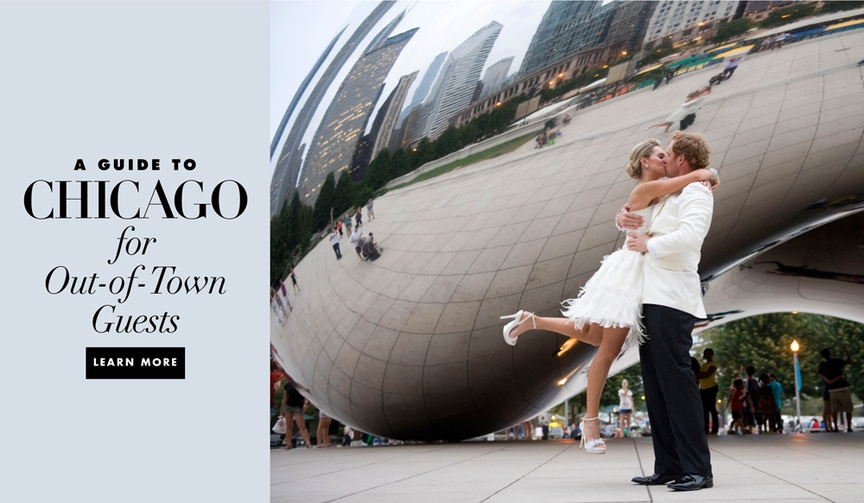 A guide to Chicago for your out of town wedding guests