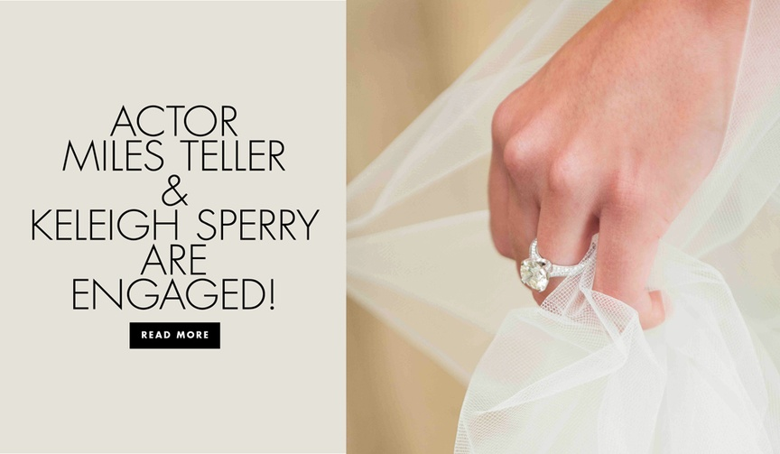 Actor Miles Teller and longtime girlfriend Keleigh Sperry are engaged see her ring and view similar
